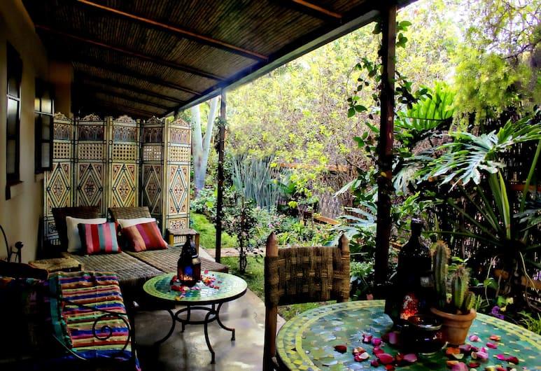 Moroccan House, Pretoria, Executive Double Suite Fez , Terrace/Patio