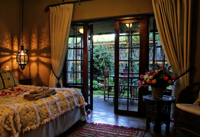 Moroccan House, Pretoria, Luxury Double Suite Casablanca , Terrace/Patio