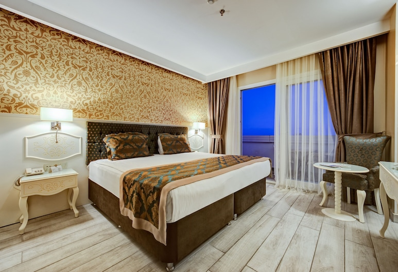 Navona Hotel, Mersin, Deluxe Double Room, Sea View, Guest Room