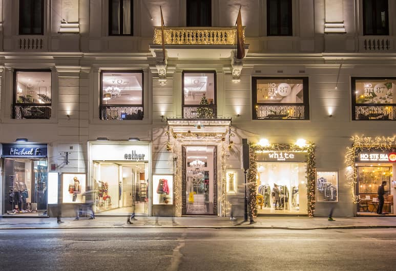 Hotel 87 Eighty-Seven - Maison D'Art Collection, Rome, Ingang van hotel