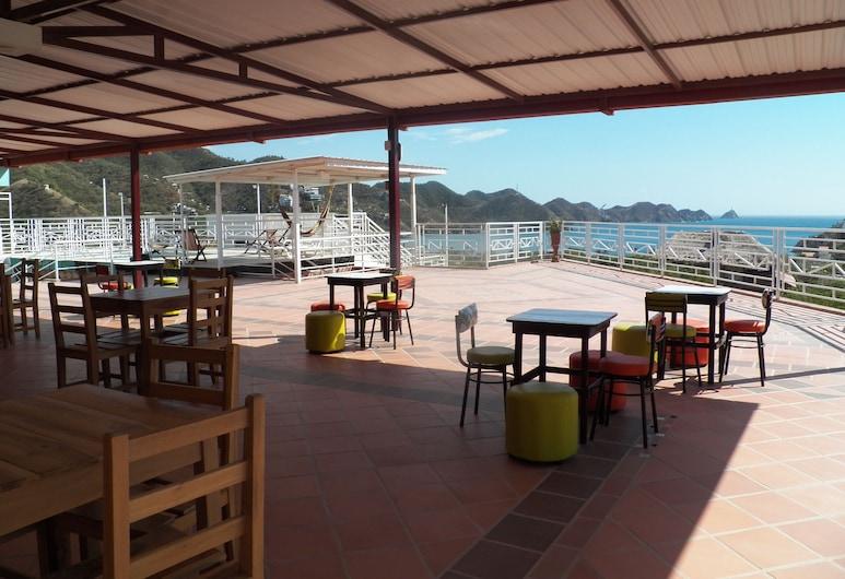 Hostal Green Light, Santa Marta, Outdoor Dining