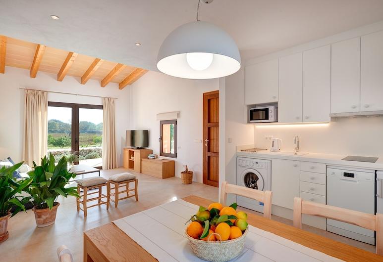 Agroturismo Son Capellot, Felanitx, Villa, 2 slaapkamers, terras, Keuken in kamer