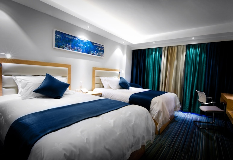 LYZ Business Hotel, Lima, Executive Twin Room, 2 Double Beds, Guest Room