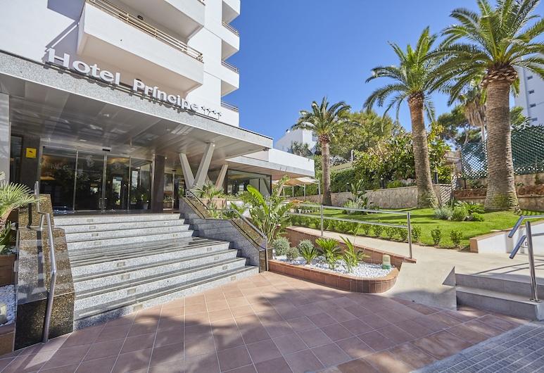 Hotel Príncipe, Palma de Mallorca, Hoteleingang