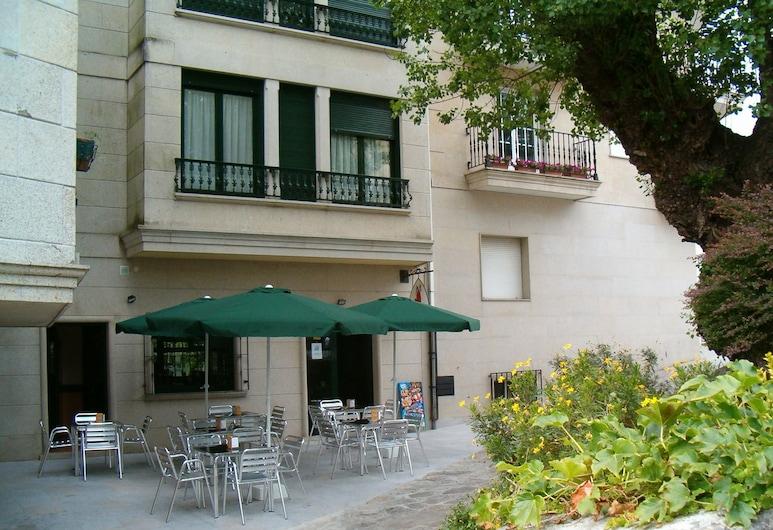Hotel O Lagar, Cambados, Terraza o patio