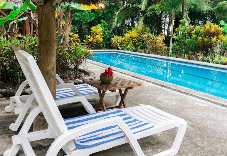 Bluff Beach Retreat, Bocas del Toro, Luxury Tek Büyük Yataklı Oda, Oda Manzarası