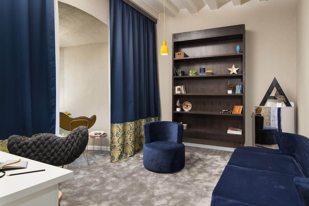 Junior-Suite, Meerblick - Wohnzimmer