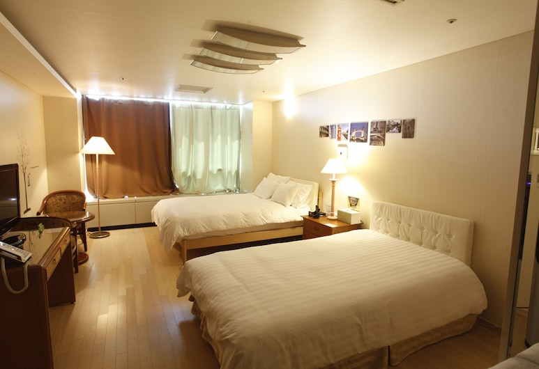 Goodday Airtel, Incheon, Kamar Deluks, Kamar Tamu