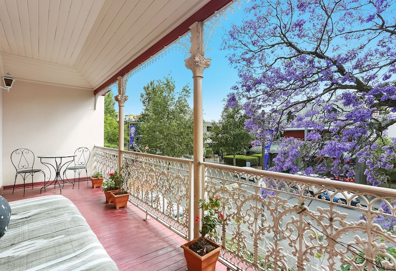 Alishan International Guest House, Glebe, Terraza o patio