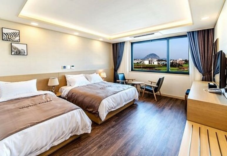柯薩海水 Spa 飯店, 西歸浦, 客房 (Seawater Spa Room, 1Double+1Single ), 客房