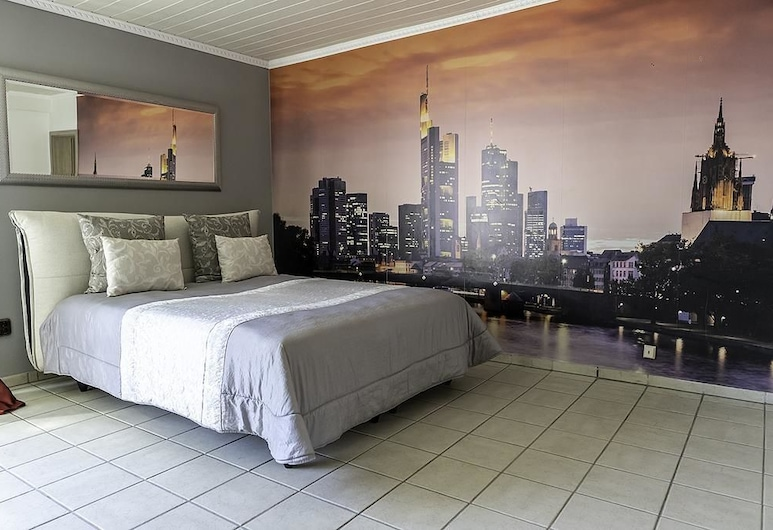 PMC Business Apartments, Rüsselsheim, Penthouse Confort, 3 habitaciones, para no fumadores, Habitación