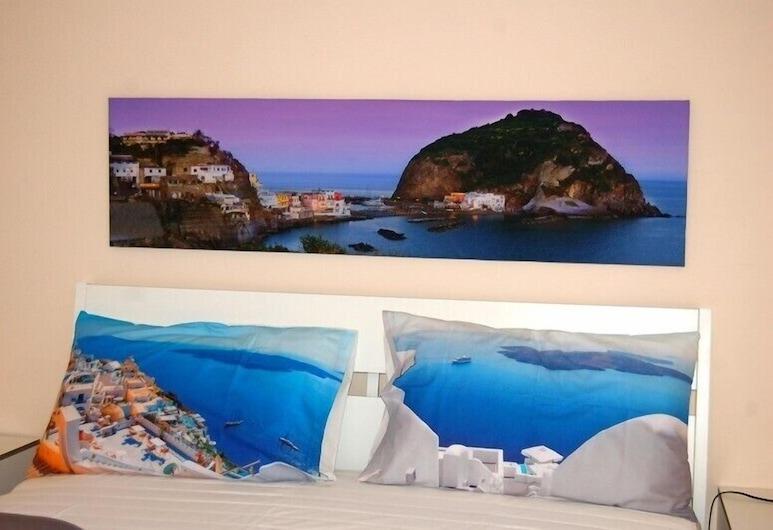 B&B Il Golfo, Neapel, Deluxe dubbelrum - balkong, Gästrum
