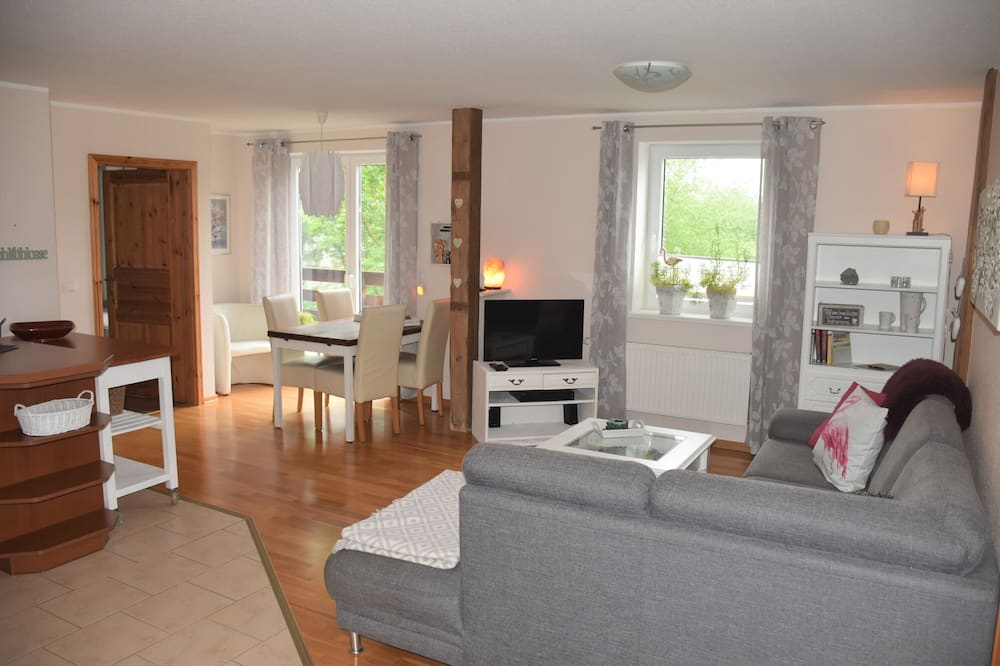 Apartment, 2 Bedrooms, Non Smoking, Private Bathroom (Deichblick) - Ruang Tamu