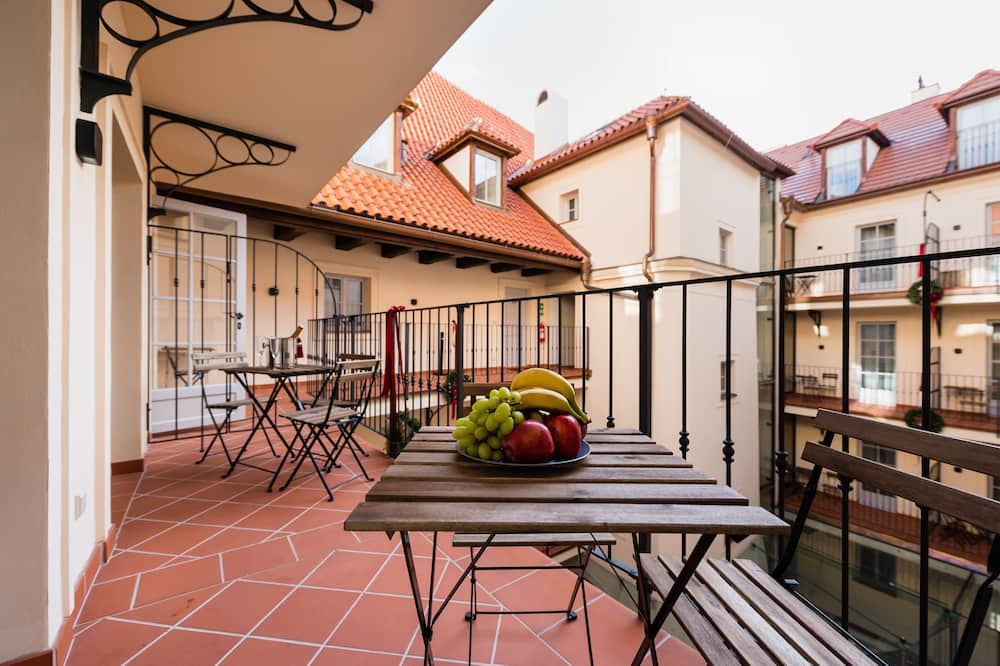 Apartament typu Suite, 2 sypialnie, balkon - Balkon