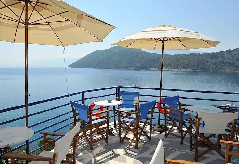 Nafsika Villas, Samos, Bar del hotel