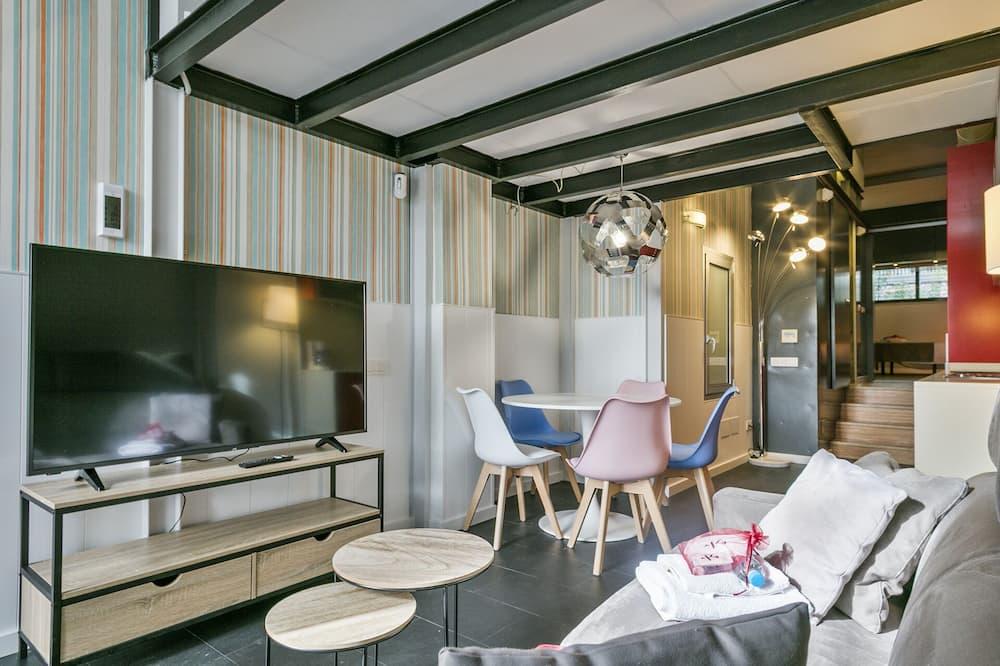 Loft (5 people) - Wohnzimmer