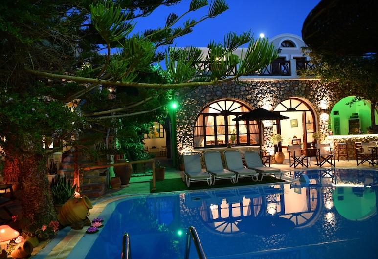 Philoxenia Villas, Santorini, Buitenkant
