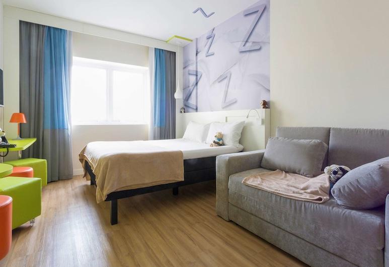 ibis Styles Sao Paulo Barra Funda, San Paulas, Kambarys šeimai, 1 standartinė dvigulė lova ir 1 sofa-lova, Svečių kambarys