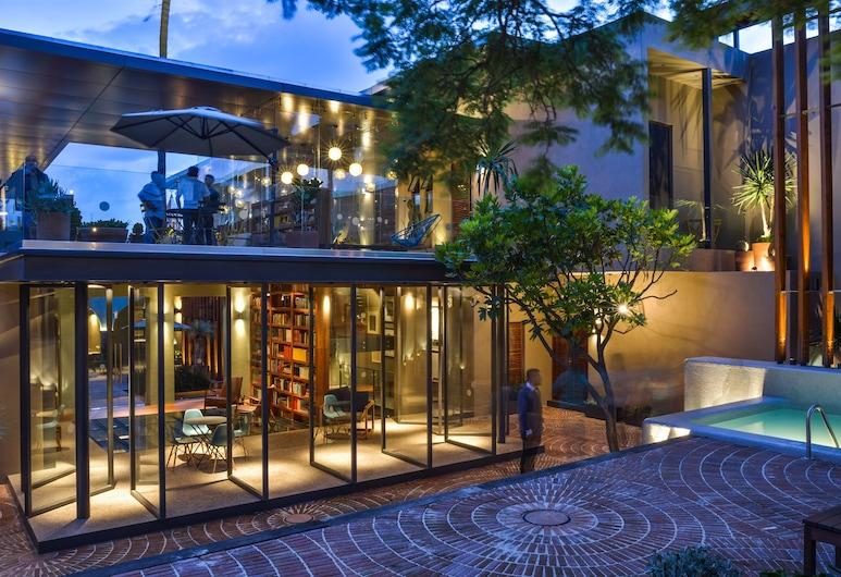 Hotel Criol, Querétaro, Terraza o patio
