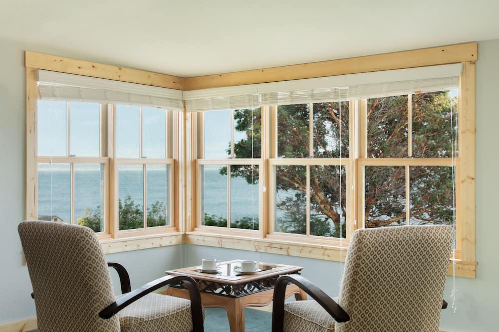 Domek letniskowy Premier, 1 sypialnia, widok na morze, widok na morze - Widok z pokoju