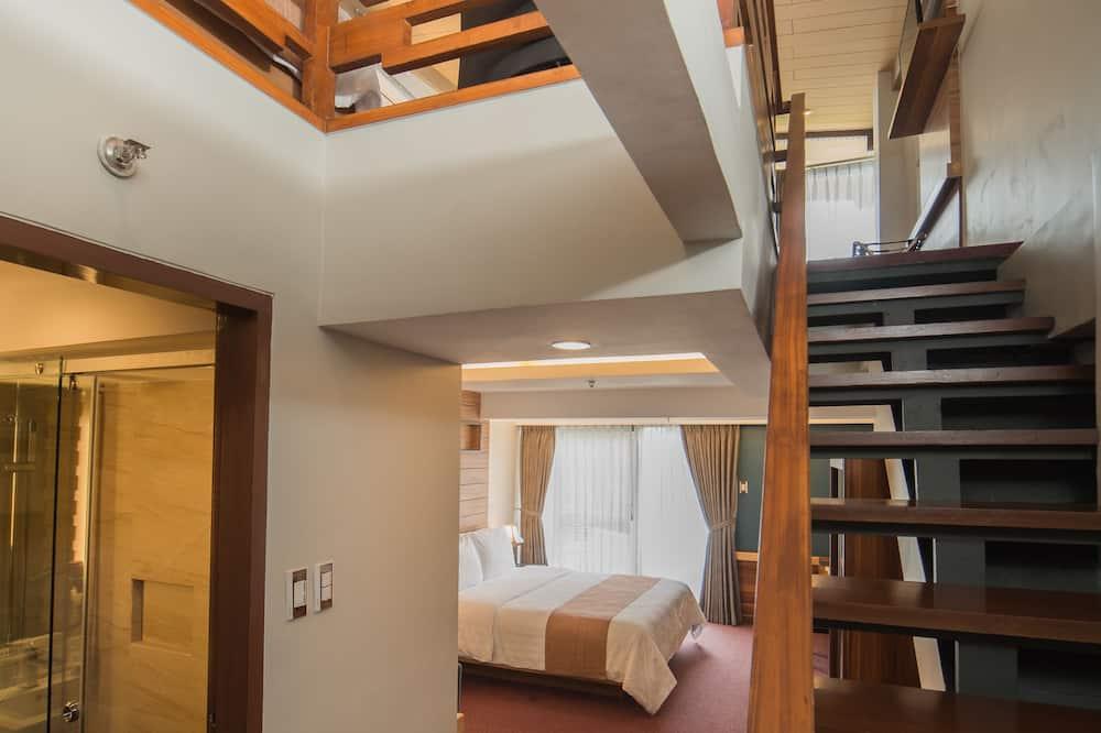 Családi szoba, több ágy - Nappali rész