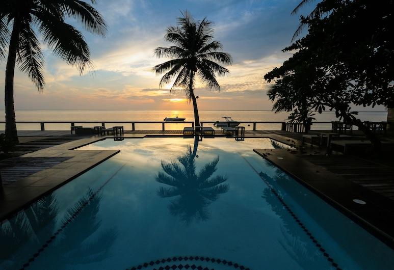 Isla Cabana Resort, General Luna, Bazen