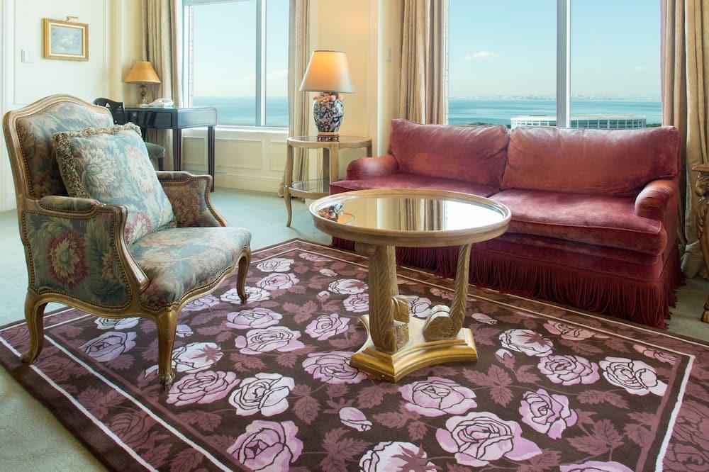 皇家套房, 非吸煙房 (Sea Side) - 客廳