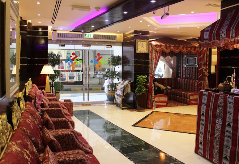 Al Khaleej Grand Hotel, Dubajus, Poilsio zona vestibiulyje