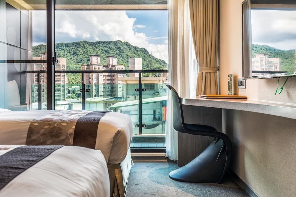 Panoramic-Zweibettzimmer, Balkon - Zimmer