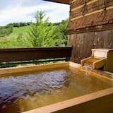 Japanese Style Room with Private Open Air Bath (Meals served in Restaurant)  - Private spa tub