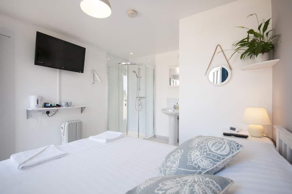 Standard szoba kétszemélyes ággyal, 1 kétszemélyes ágy - Fürdőszoba