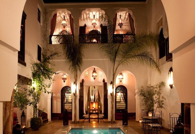 Riad Assouel, Marrakech, Vonkajší bazén