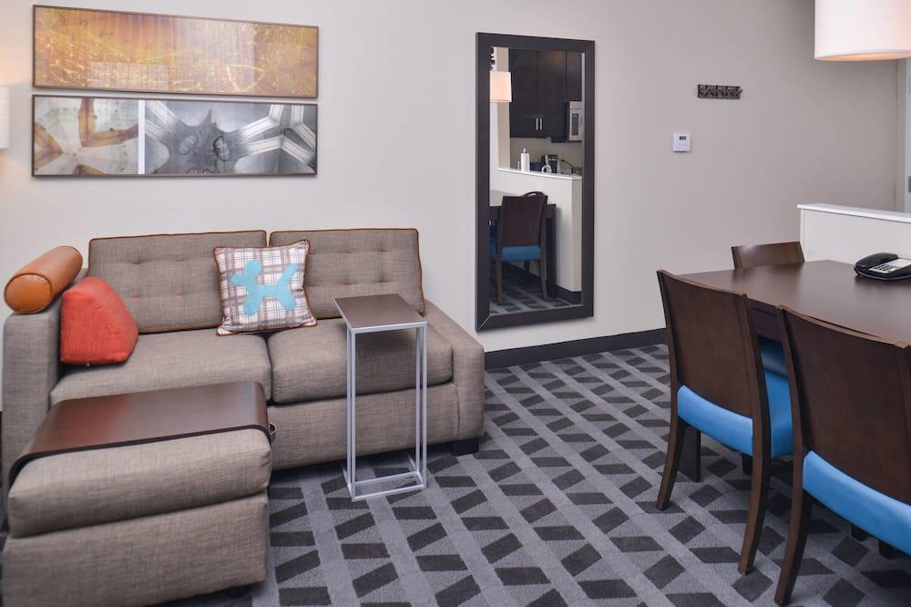 Suite, 2Schlafzimmer, Nichtraucher - Wohnbereich