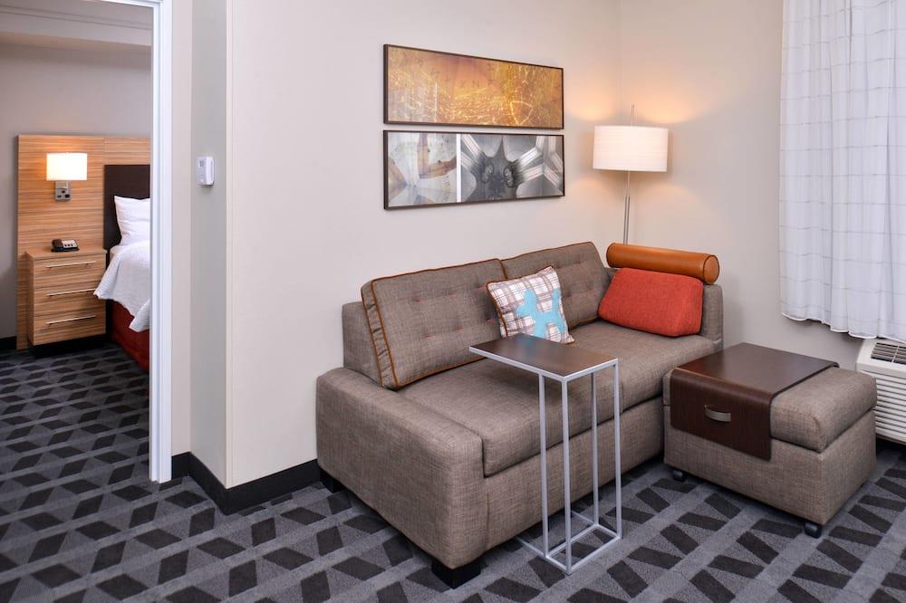 Suite, 1 Schlafzimmer, Nichtraucher - Wohnzimmer