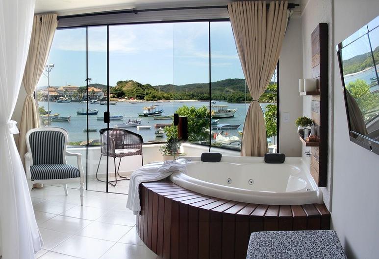 Pousada Recanto da Passagem, Cabo Frio, Executive Suite, 1 Queen Bed, Canal View, Guest Room View