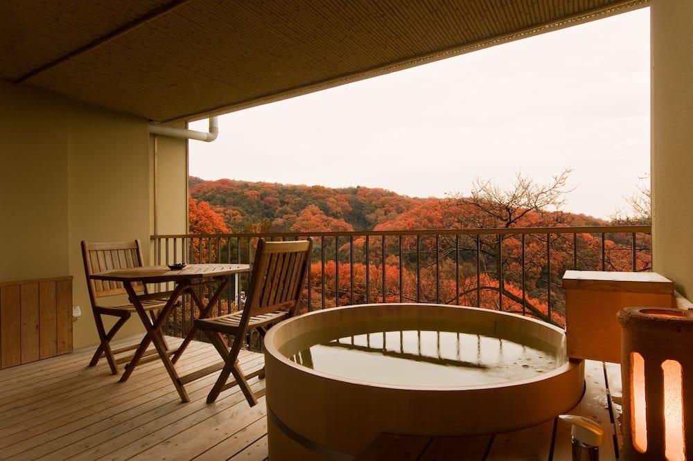 Traditional-Zimmer, Raucher, Whirlpool (Japanese Style, No Shower) - Balkon