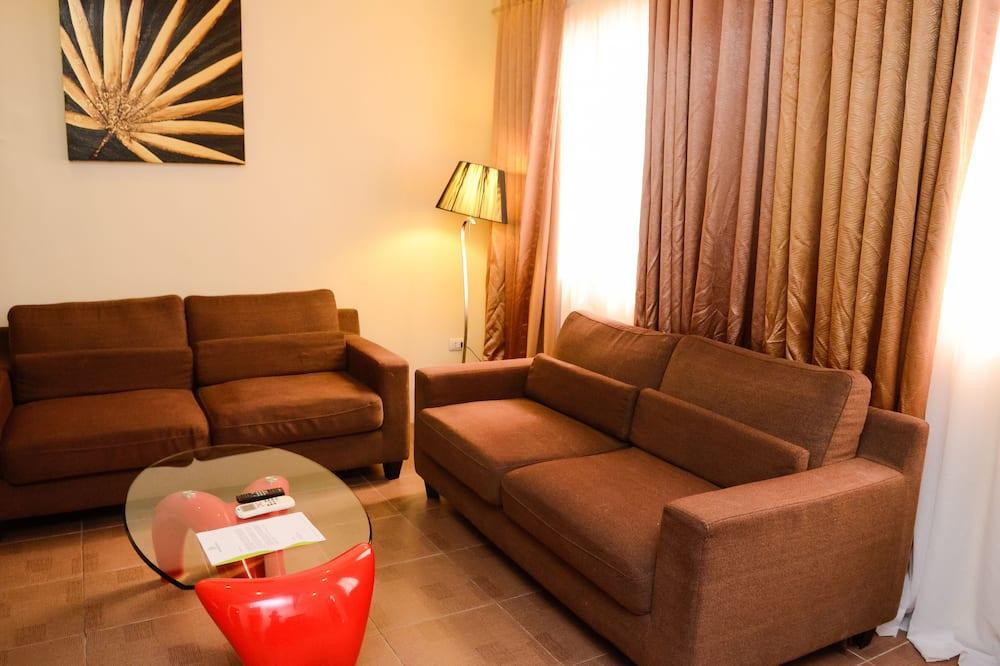 Room, 1 King Bed - Living Room