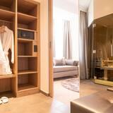 Luxus lakosztály, 1 hálószobával, szauna - Fürdőszoba