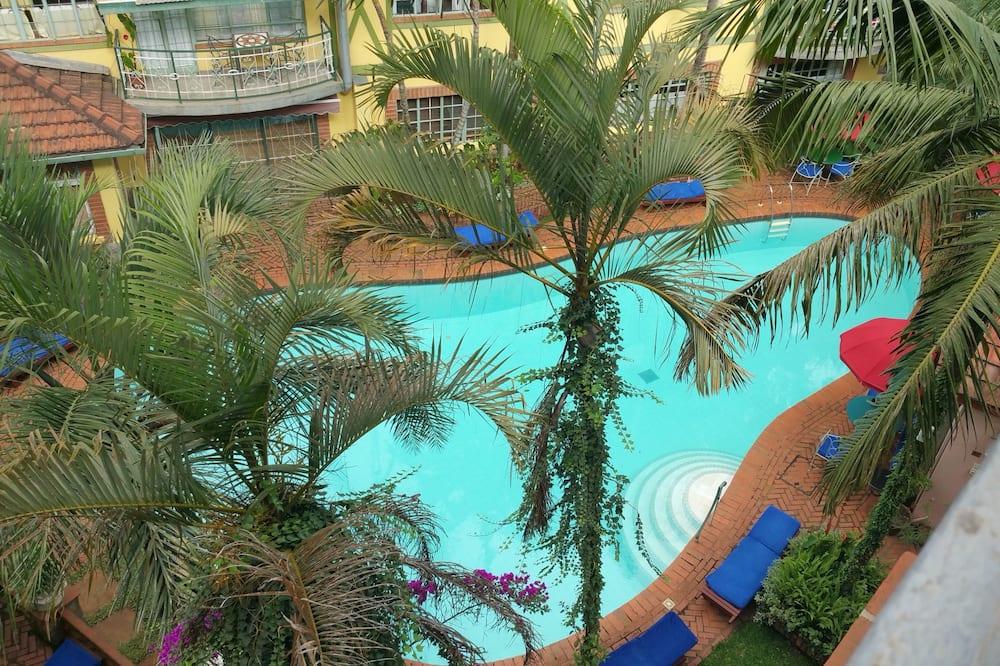Standaard appartement, 2 slaapkamers - Buitenzwembad
