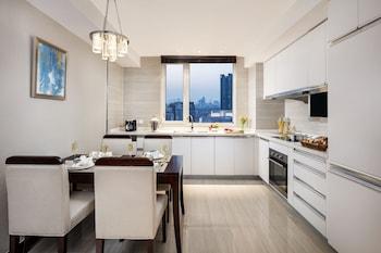在天津的天津雅诗阁泰达 MSD 服务公寓照片