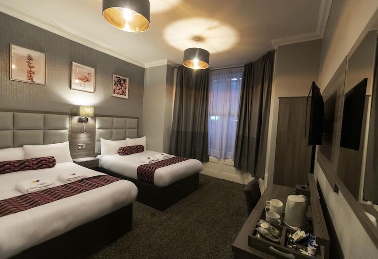 Euro Hotel Hammersmith, London, Vierbettzimmer, Zimmer