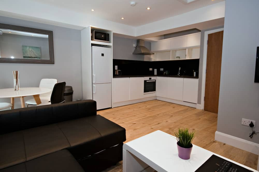 Apartment (4 adults) - Living Area