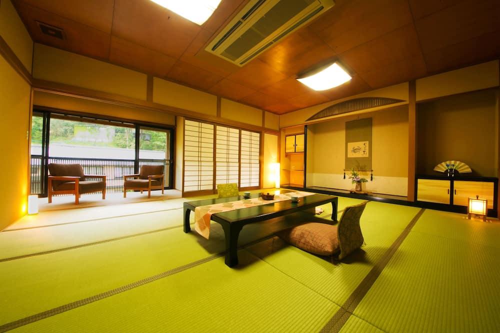 Japanese Style Room with Open Air Bath, SAZANKA - Living Area