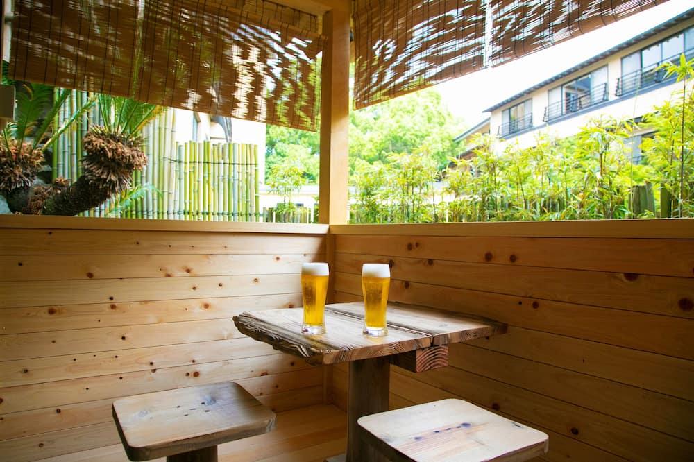 Japanese Style Room with Open Air Bath, FUKUCHI  - Balcony
