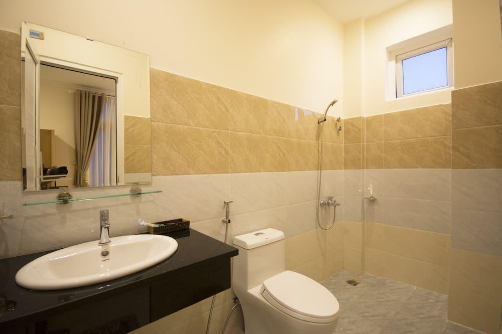 Стандартний одномісний номер з двоспальним ліжком - Ванна кімната