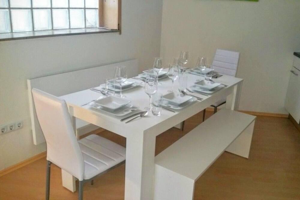 Apartment, Kitchen (Fichtenweg 54, Kappe) - In-Room Dining