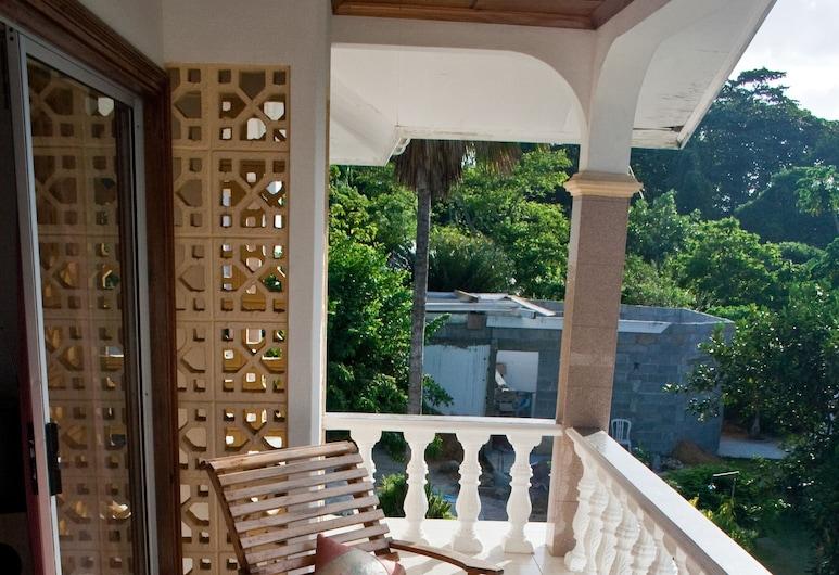 ヴィラ ドゥ ローズ, マヘ島, スタンダード アパートメント 1 ベッドルーム, バルコニー