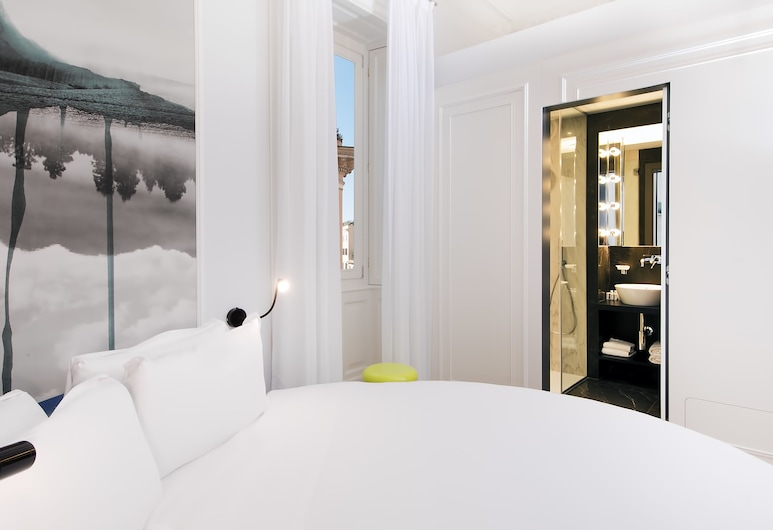 Boutique Centrale Palace Hotel, רומא, חדר דה-לוקס, חדר אורחים