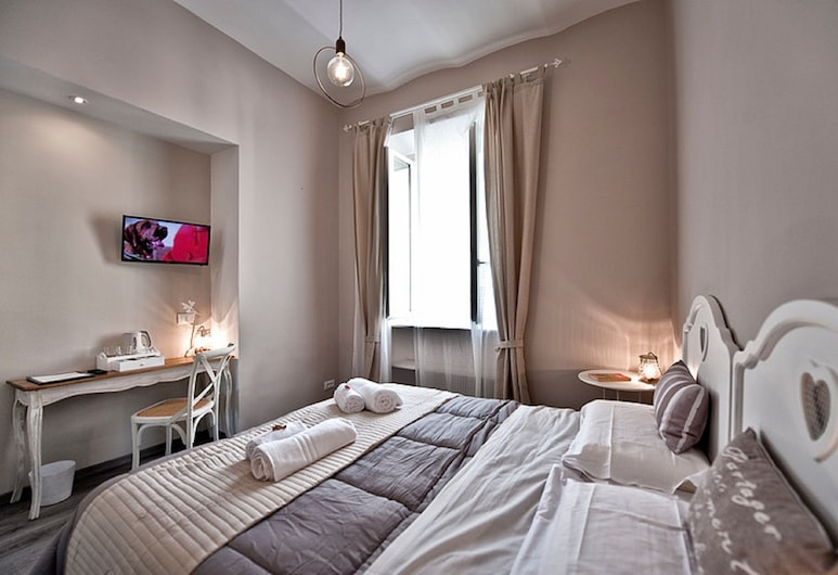 Tinkerbell Roma, Rome, Deluxe Double or Twin Room (Bell 2), Guest Room