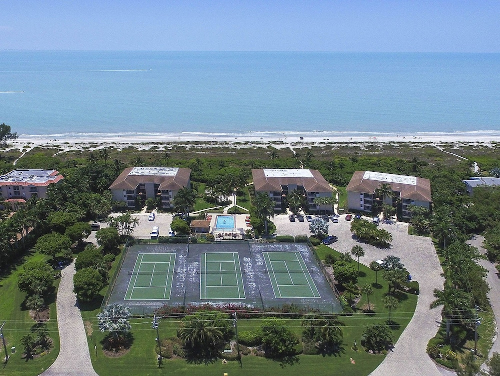 Sanddollar A303 By Redawning Sanibel Aerial View
